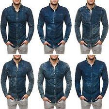 Camicie casual e maglie da uomo blu