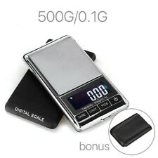0.1-500g Pocket LCD Digital Scales Electronic Jewelry Gold Silver Weighing Tool