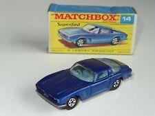 (B) matchbox lesney superfast ISO GRIFO - 14 rare F box
