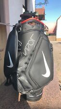 Nike Vapor Golf Tour / Staff Bag Black & Red Vapor Tiger Woods UN RELEASED! RARE