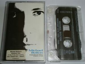 Michael Bolton - The Greatest Hits Cassette Tape Clear Shell The Best Of