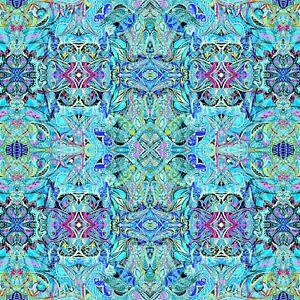 Blue Duets Fabric - 12353B-54 - Paula Nadelstern - Benartex