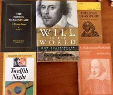 Shakespeare, William Lot of 5, Brand New and vintage, CHEAP VG and vintage