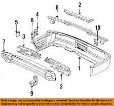 ACURA OEM 91-95 Legend 3.2L 4-dr Left Rear Bumper Energy Absorber 71575-SP0-A00