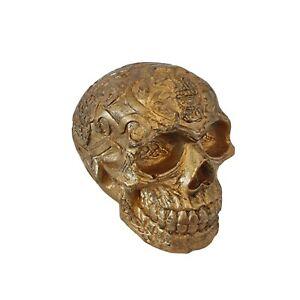 Concrete skull - Gold