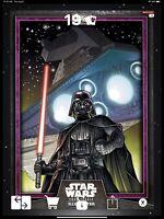 Star Wars Card Illustrated W IV - PURPLE DARTH VADER (125cc)