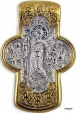 Russian Gold Unique Cross Orthodox Byzantine Era Silver