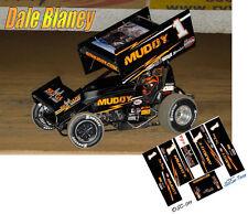 CD_DSC_011 #1 Dale Blaney Muddy sprint car  1:18 Scale Decals