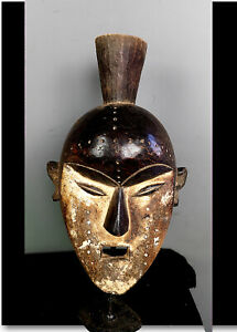 Old Tribal kwele  Mask    --- Gabon