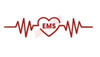 EMS Heartbeat Rhythm Nurse Sticker Vinyl Decal Window Sticker Car