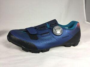 Barely Worn $170 SHIMANO  SH-XC501W  XC MTB  Shoes Navy Women's 4 1/2   EU 36