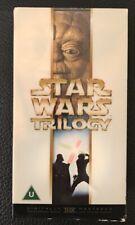STAR WARS TRILOGY BOX SET VHS, VIDEO.