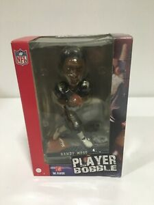 Randy Moss New England Patriots player bobblehead Forever Collectibles