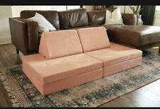 The Nugget Comfort Couch | Color PEACHTREE *IN HAND*