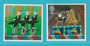 Großbritannien Europa CEPT aus 2002 ** postfrisch MiNr. 2004-2005 Zirkus