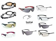 BOLLE Safety Glasses, Various Types - Pouch & Adjustable Cord With Some Models.