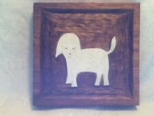 "PERSONALIZE YOUR 11"" PET PORTRAIT 3D Skil Saw Wood Folk Art Designs by Eric Dog"
