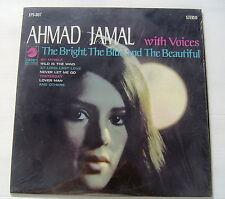 AHMAD JAMAL...THE BRIGHT,THE BLUE & THE BEAUTIFUL....LP