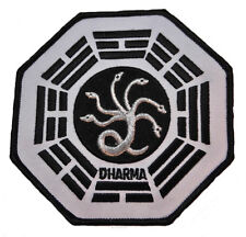 """Lost TV Series Dharma Project Hydra Logo 4"""" Wide Embroidered Patch"""