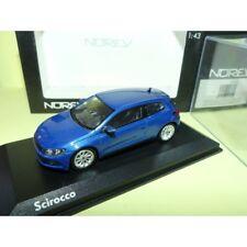 VW SCIROCCO 3 2008 Bleu Risingblue NOREV 1:43