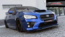 Spoilerlippe Subaru Impreza WRX STI Frontspoiler Spoiler Ansatz Schwert Carbon