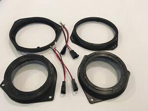 Adattatori  Casse 165mm + 100mm  per Opel Corsa D anter e post