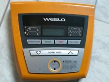WESLO COMPACT SL DISPLAY CONSOLE - ALL GOOD WORKING ORDER - NO RETURNS