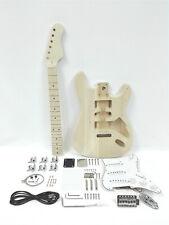 Complete No-Soldering Electric Guitar DIY,Loaded PickGuard,SSS Pickups HSST 1910