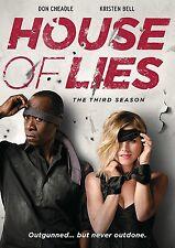 House Of Lies . The Complete Season 3 . Don Cheadle . Kristen Bell . 2 DVD . NEU