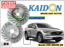 "Mazda CX5 brake disc rotor KAIDON (Rear) type ""BS"" / ""RS"" spec"