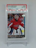 2018-19 Upper Deck Young Guns #463 Ilya Samsonov PSA 10 Washington Capitals