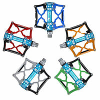 RockBros Mountain Bike Cycling Pedals Aluminum Alloy 3 Sealed Bearing 9/16''