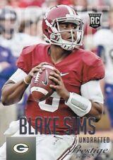 Blake Sims, (Rookie)  2015 Prestige Football Sammelkarte, #209