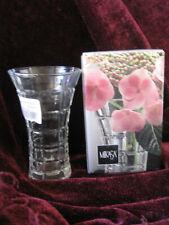 "New in Original Box Vintage Mikasa Monarchy Crystal Bud Vase 4.75"" Japan"