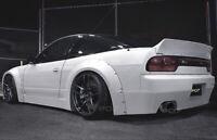 Nissan 200 SX S13 Widebody, Rally Body Kit Front Schweller Heckspoiler Heckstoßs