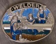 Pewter Belt Buckle tradesman Welder NEW