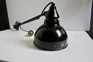 Rademacher Bauhaus Lampe Tischlampe Werkstattlampe Industrie Loft Art Deco