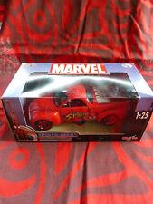 """Voiture Chevrolet Marvel Die Cast Collection Métal """"Spider-man"""" - Maisto"""