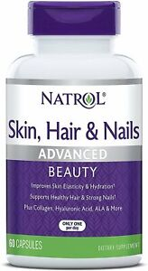 Natrol Skin / Hair & Nails Clinical Strength Skin Care Capsules - 60 Count