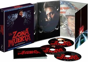 The Dead Zone (1983) Collectors Edition Blu Ray + DVD Region B Import New/Sealed