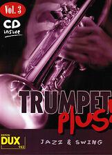 Trompete Noten : Trumpet plus! - Band 3 mit CD - mittelschwer