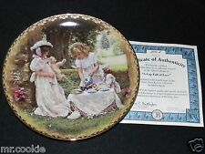 A Cup Full of Love Plate Sandra Kuck Sister's Love Forever Collection COA 2990