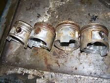 honda cb650 cb650c cb650sc nighthawk piston set pistons 79 1980 81 82 1981 1979