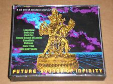 FUTURE SOUNDS OF INFINITY (LOOP GURU, OPTIC EYE, CARL COX) - 4 CD BOXSET