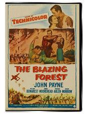 The Blazing Forest 1952 DVD - John Payne, Susan Morrow, Agnes Moorehead