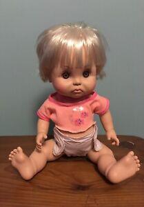"Vintage Baby Face Doll ""So Sad Brooke"" #24 Galoob 1991"
