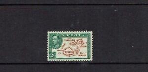 Fiji: 1938 2d Green & Brown, Die 1,  Mint Lightly Hinged.