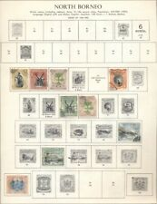 NORTH BORNEO, NORTHERN RHODESIA, NYASALAND - BRITISH COLONIES: @100 on Pages