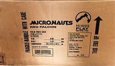 NEW Takara Microman Micronauts Palisades Red Falcon Set of 6 Factory Sealed Case