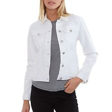 The Limited White Ladies Denim Jacket XXL NWT
